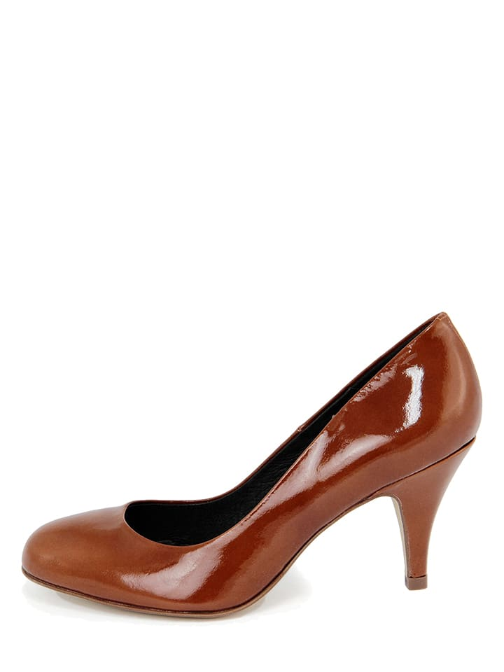 EYE Leder-Pumps in Braun - 65% | Größe 40 | Pumps