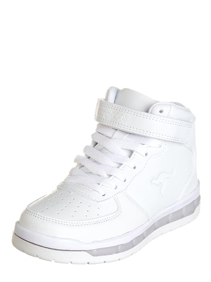 """Kangaroos Sneakersy """"K-Lid"""" w kolorze białym"""