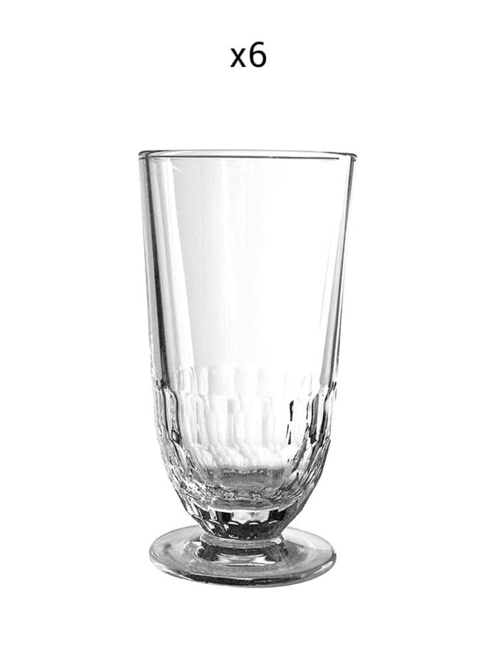 La Rochere Szklanka (6 szt.) w kolorze transparentnym - 350 ml
