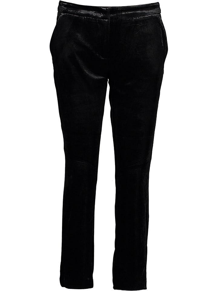 Benetton Spodnie w kolorze czarnym