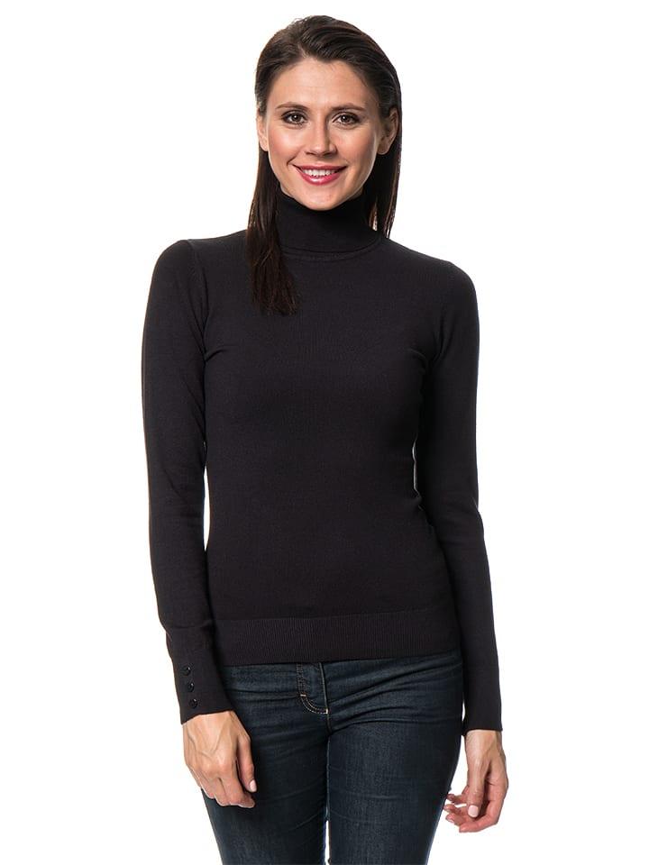 C& Jo Sweter w kolorze czarnym