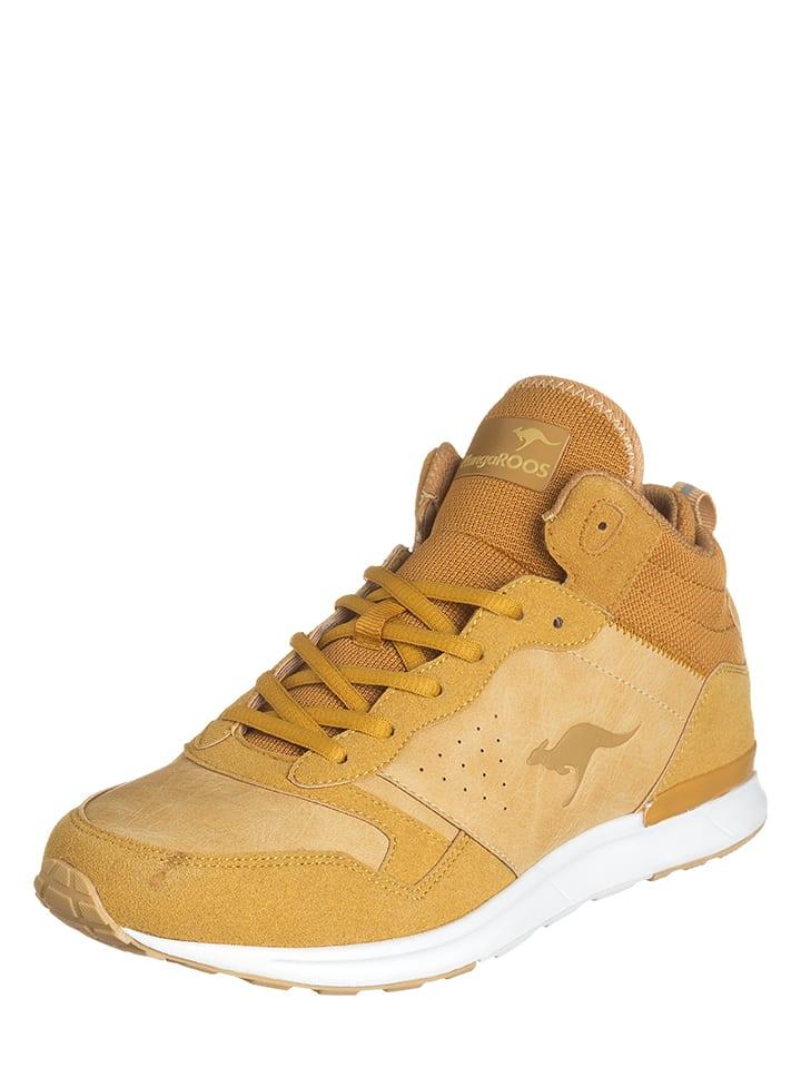 "Kangaroos Sneakersy ""Amber"" w kolorze beżowym"
