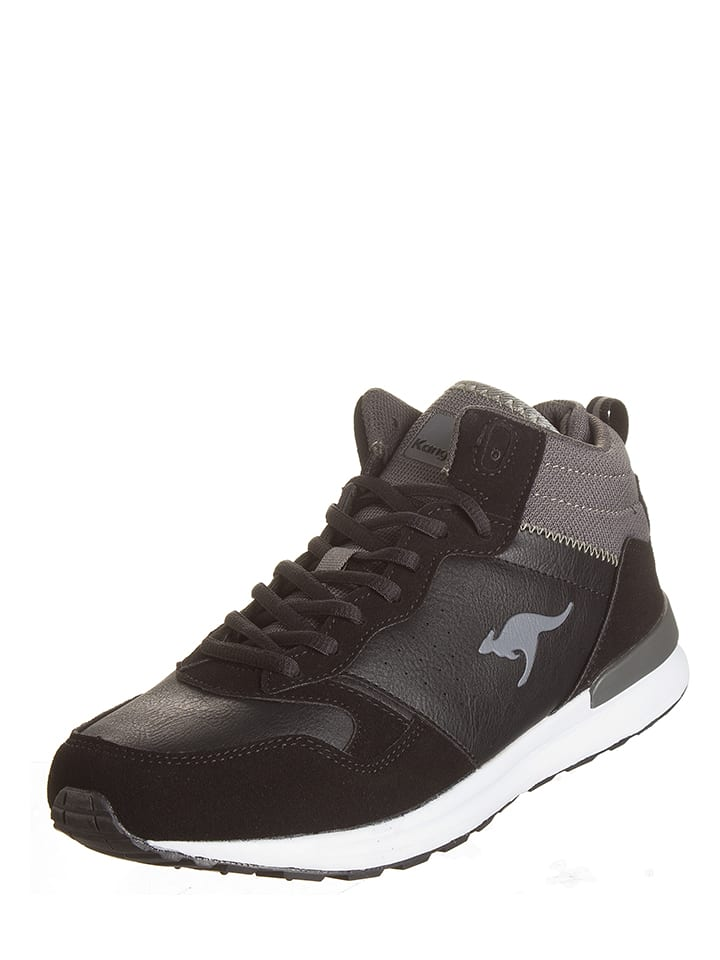 "Kangaroos Sneakersy ""Amber"" w kolorze czarnym"