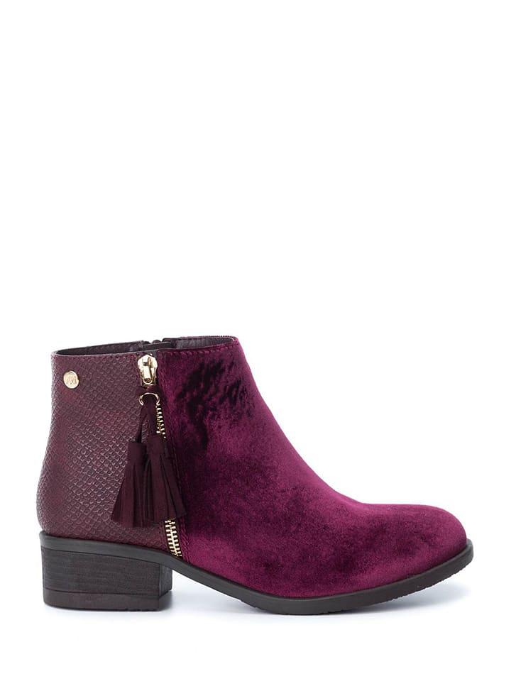 db0ad50303833 Xti - Ankle boots - bordeaux   Outlet limango
