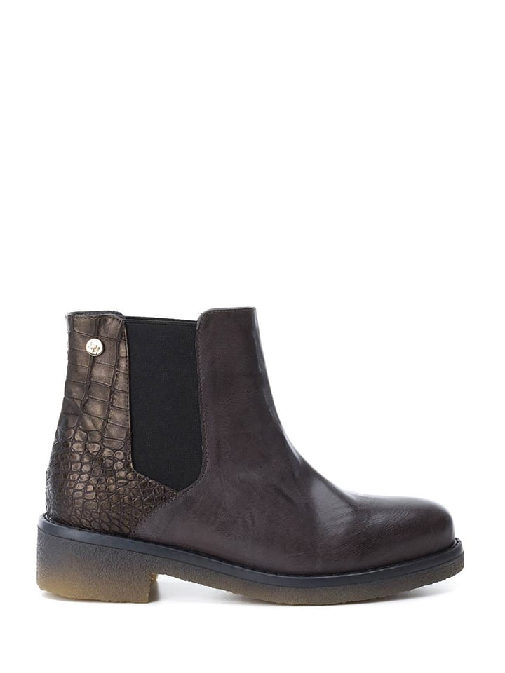Xti Chelseaboots bruin