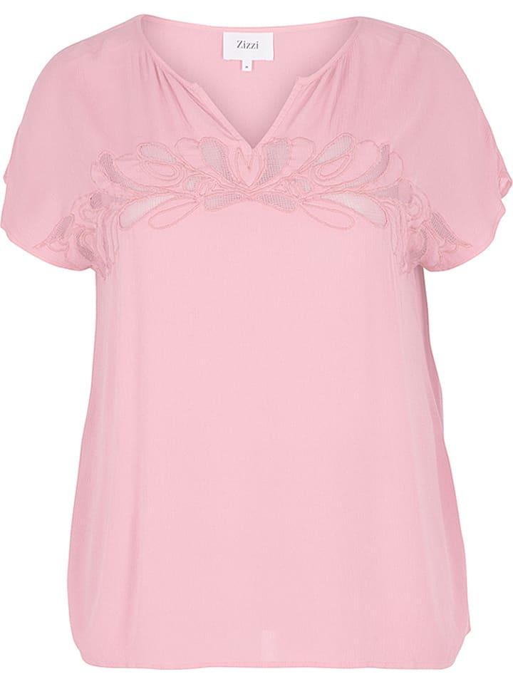 Zizzi T-shirt - rose