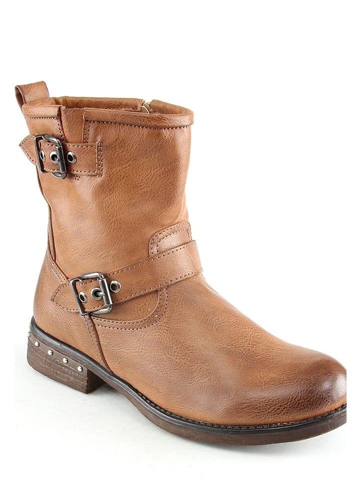 Sixth Sens Boots in Kamel