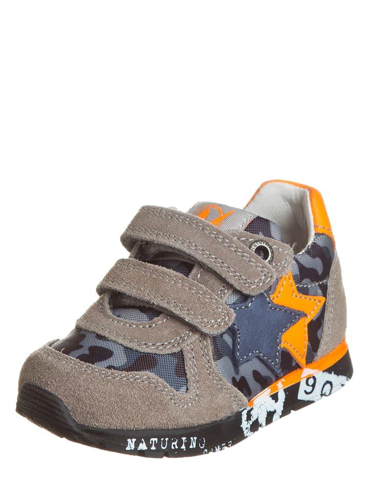 Naturino Sneakersy w kolorze szarym
