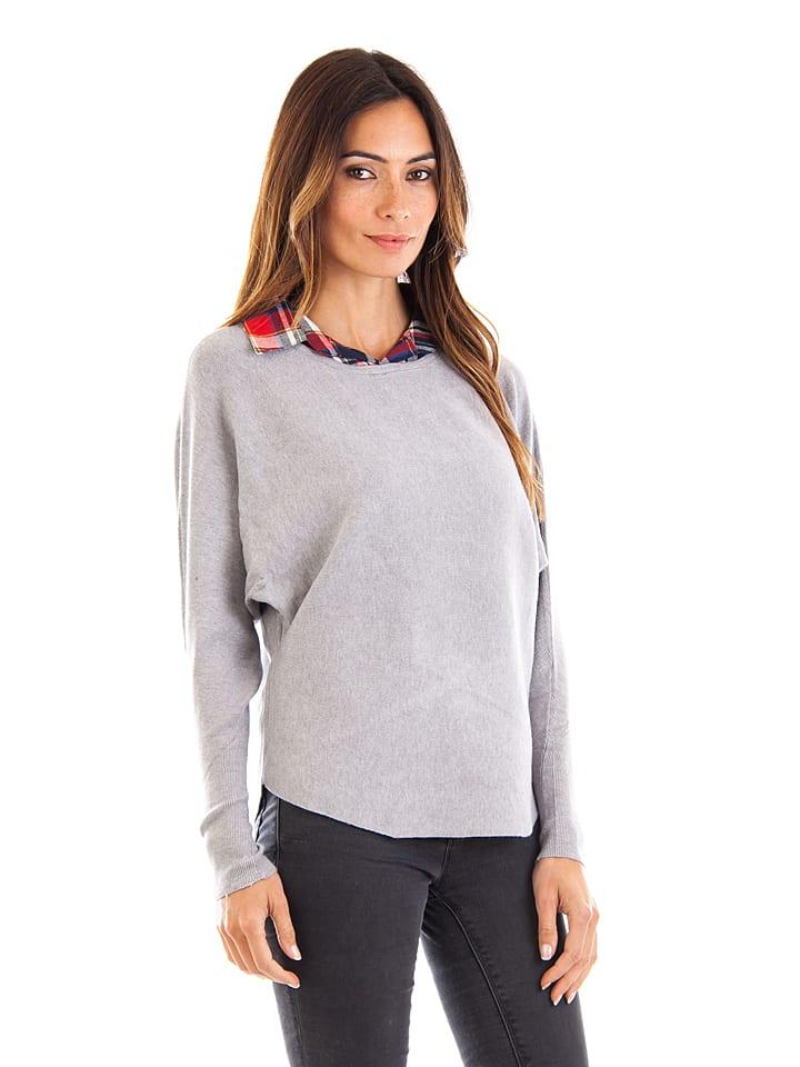 My Favorite Cashmere Sweter w kolorze szarym
