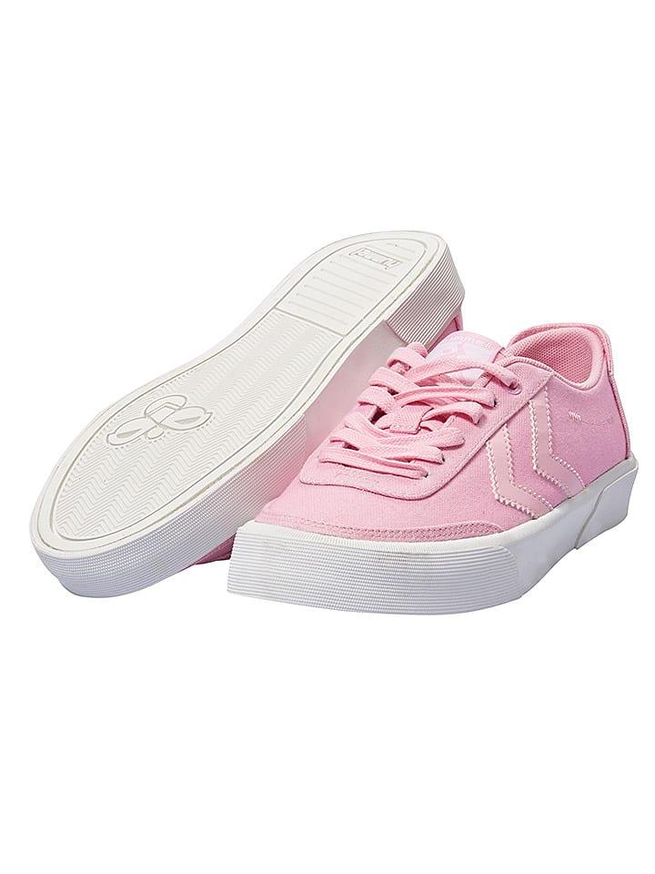 """Hummel Sneakersy """"Stockholm"""" w kolorze różowym"""