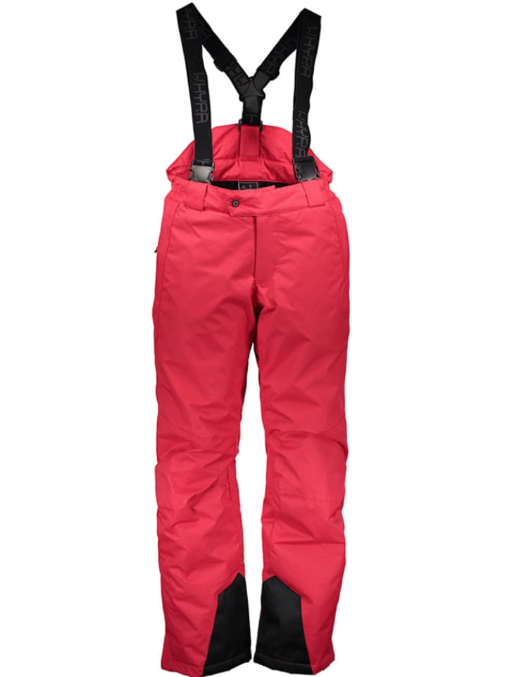 "Hyra Pantalon de ski/snowboard ""Morzine"" - rouge"