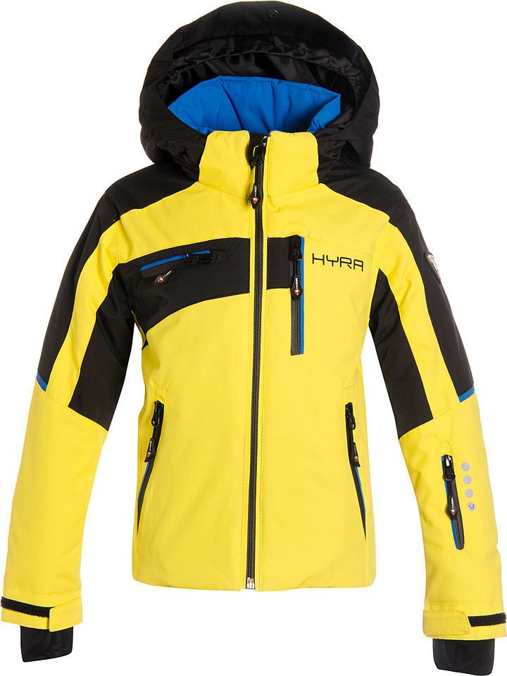 """Hyra Kurtka narciarska """"Easy Line"""" w kolorze żółtym"""