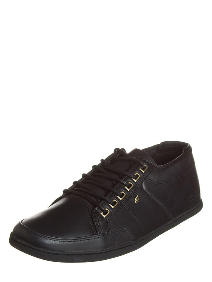 """Boxfresh Skórzane sneakersy """"Sparko"""" w kolorze czarnym"""