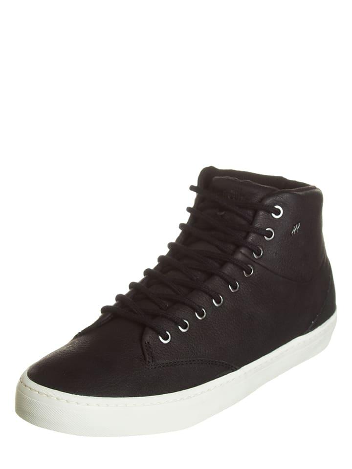 """Boxfresh Skórzane sneakersy """"Ertodao"""" w kolorze czarnym"""