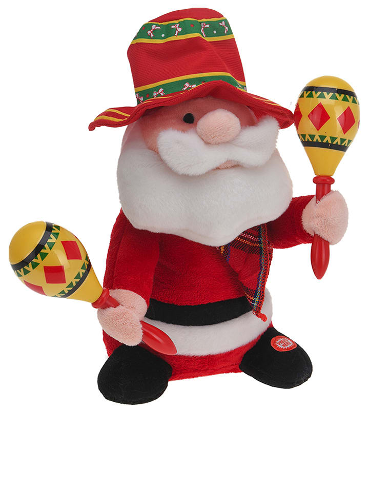 "Decoratief figuur ""Santa Claus"" rood"