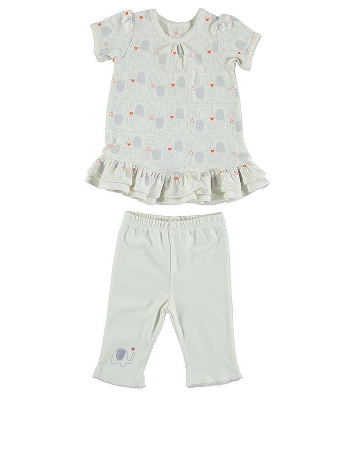 Natures Purest 2-delige outfit wit