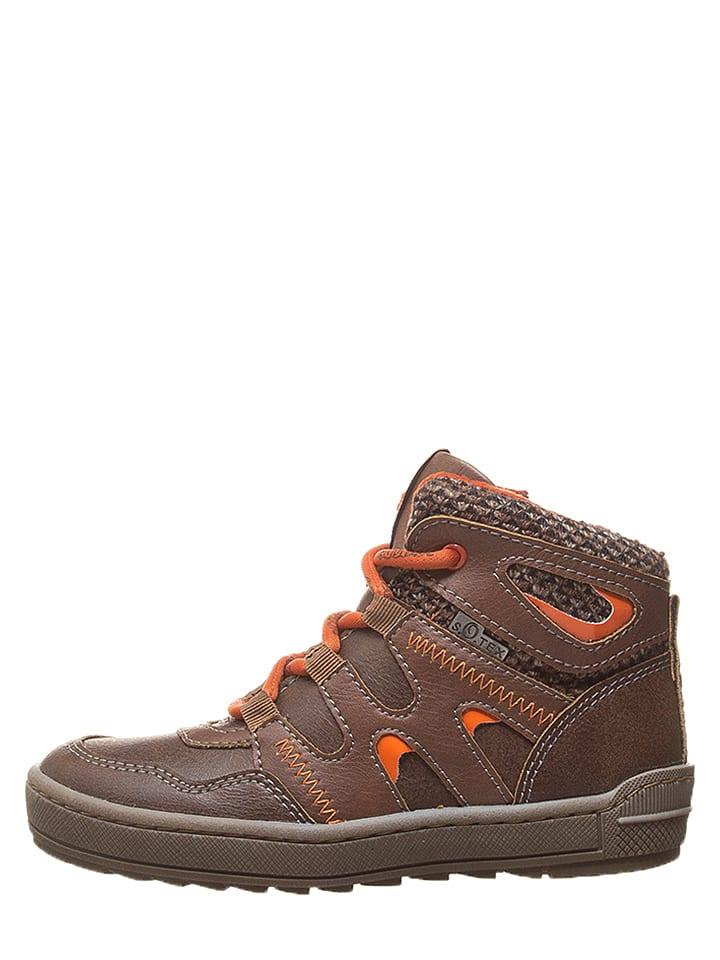 Sneakersy w kolorze brązowym