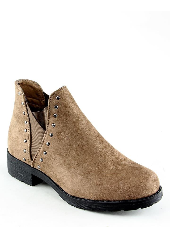 4675924a9aa6cb La Bottine Souriante - Boots chelsea - beige   Outlet limango