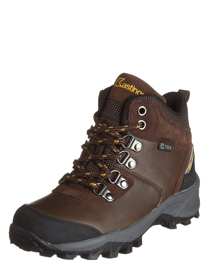 Kastinger Skórzane buty turystyczne w kolorze brązowym