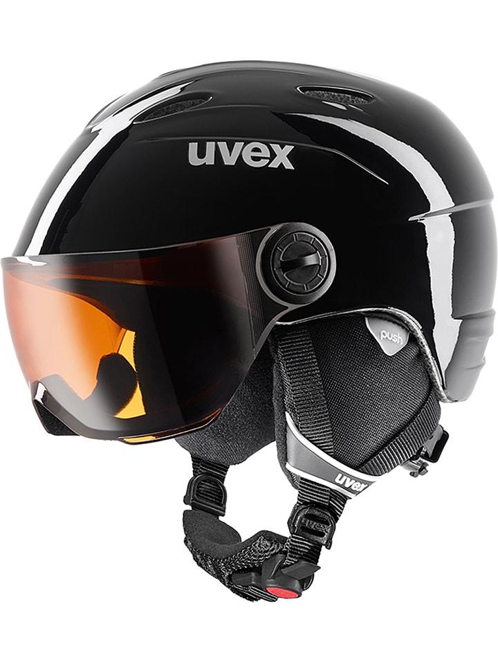 """Uvex Kask narciarski """"Visor"""" w kolorze czarnym"""
