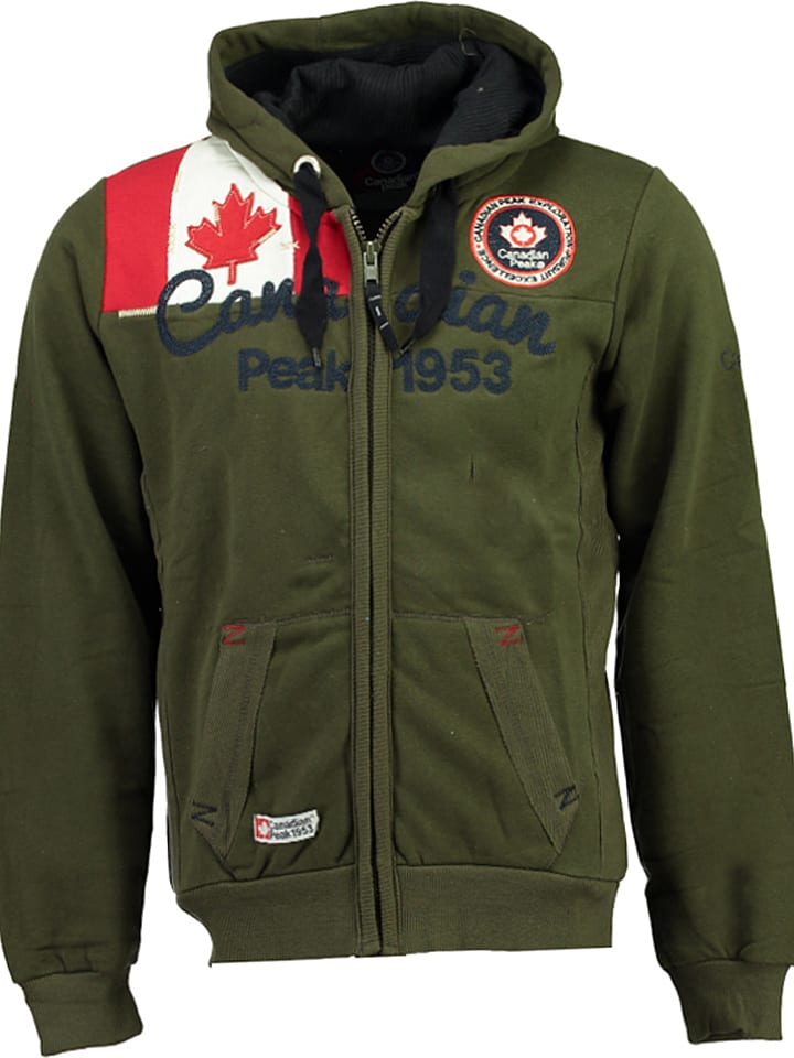 """Canadian Peak Bluza """"Gailor"""" w kolorze khaki"""