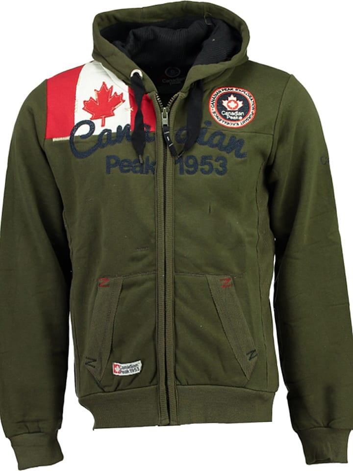 "Canadian Peak Sweat zippé ""Gailor"" - kaki"