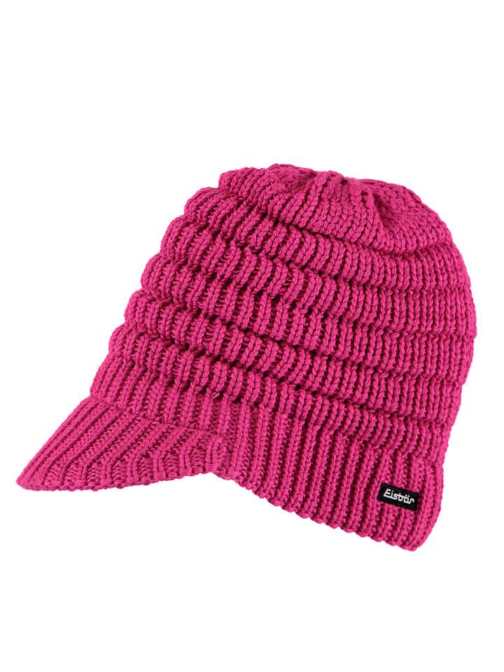"""Eisbär Czapka """"Cap Flair"""" w kolorze różowym"""