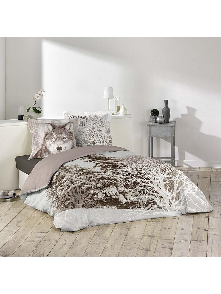 Douceur d\'Intérieur - Parure de lit en coton \