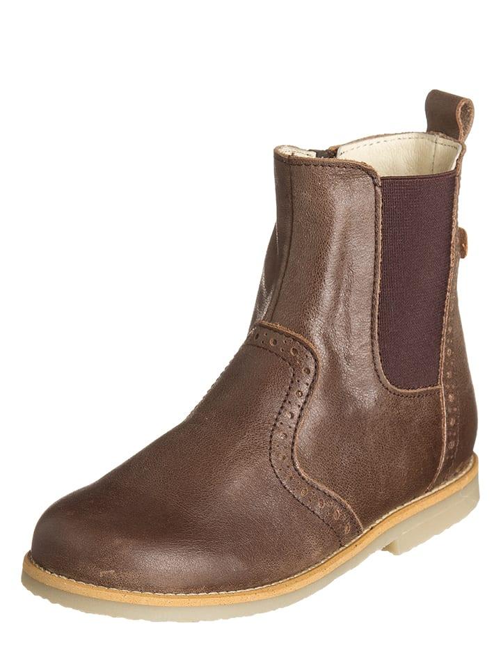 BO-BELL Leder-Boots in Braun
