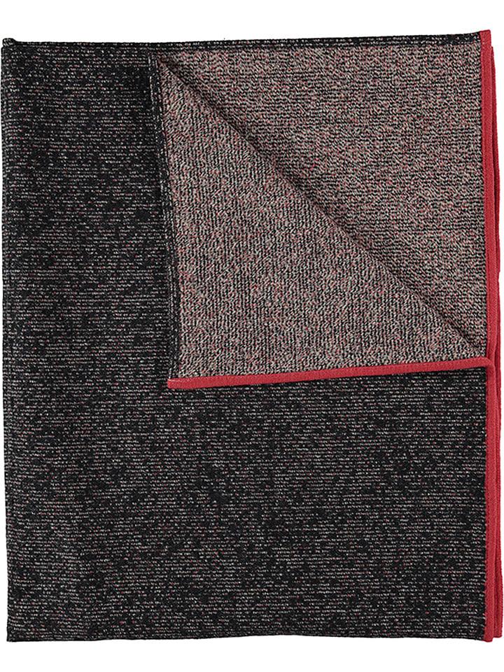 Fussenegger Koc w kolorze czarnym ze wzorem