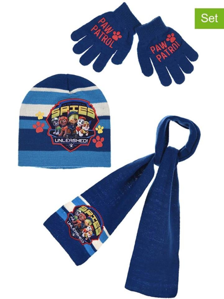 """Paw Patrol 3-częściowy zestaw """"Paw Patrol"""" w kolorze niebieskim"""