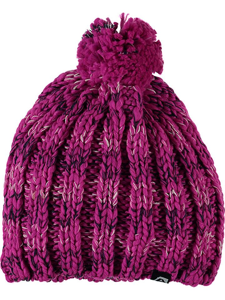 """Alpine Pro Dzianinowa czapka """"Bethan"""" w kolorze fuksji"""