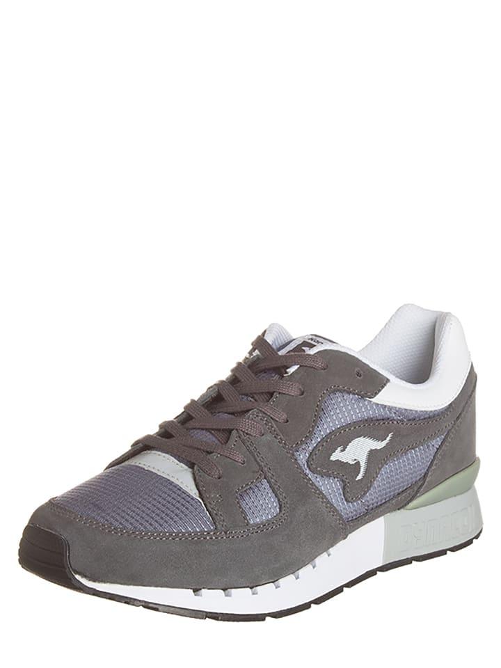 "Kangaroos Sneakersy ""Coil-R1"" w kolorze szarym"