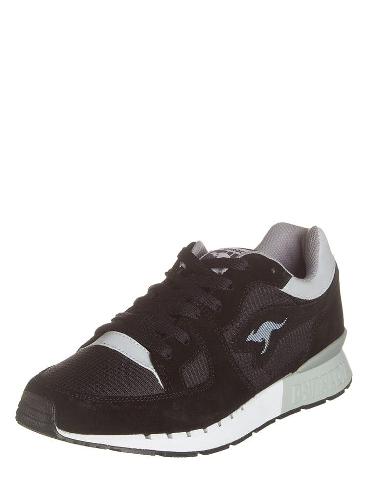 "Kangaroos Sneakersy ""Coil-R1"" w kolorze czarnym"