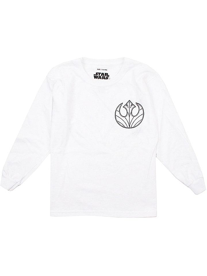 Star Wars Bluza w kolorze białym