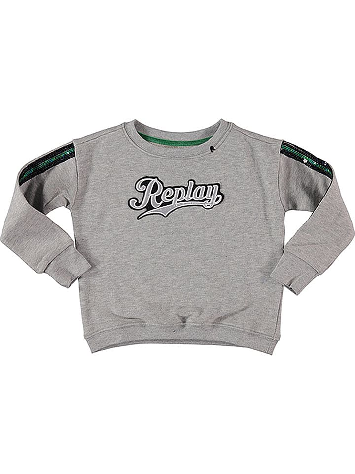 Replay & Sons Bluza w kolorze szarym