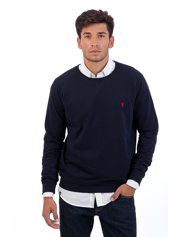 Polo Club Sweatshirt in Dunkelblau