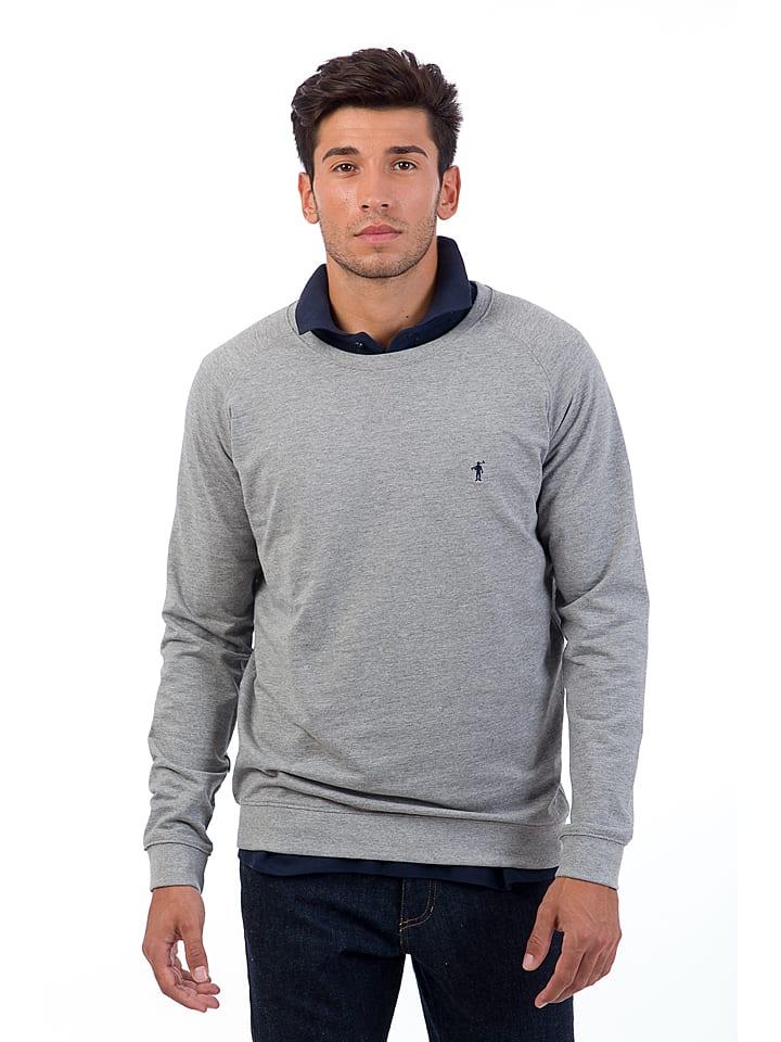 Polo Club Bluza w kolorze szarym