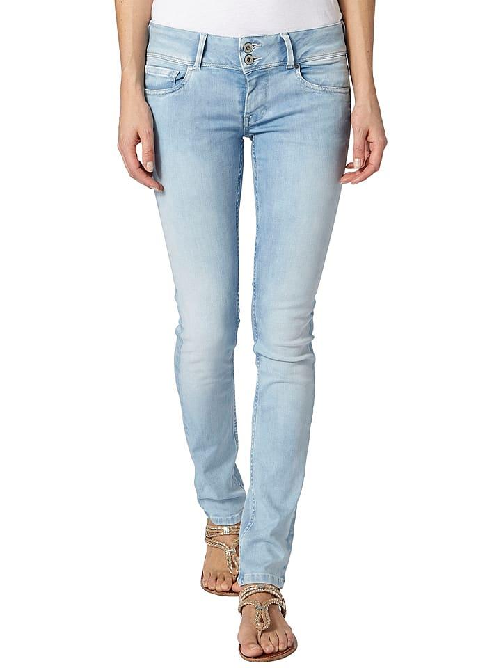 Pepe Jeans Dżinsy w kolorze błękitnym