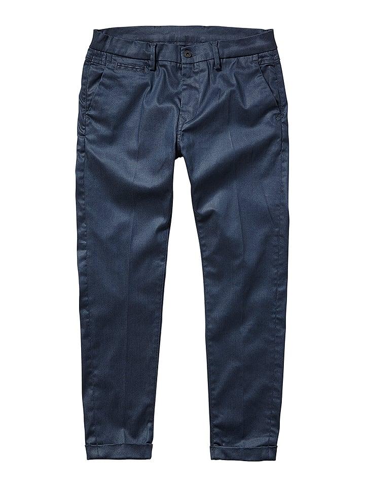 """Pepe Spodnie """"Colin"""" w kolorze niebieskim"""