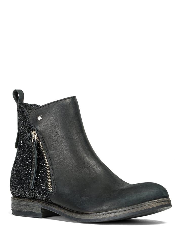 replay leder ankle boots venice in schwarz limango. Black Bedroom Furniture Sets. Home Design Ideas