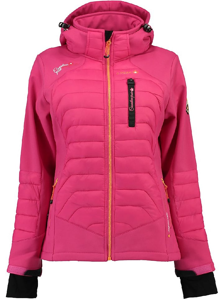 Canadian Peak Veste softshell - rose vif