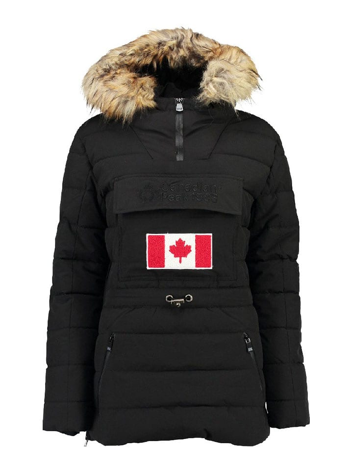 "Canadian Peak Winterjacke ""Bounteak"" in Schwarz"