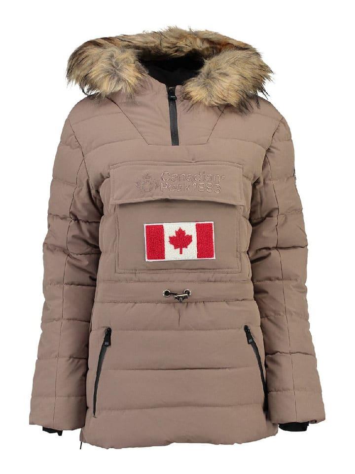 "Canadian Peak Doudoune synthétique ""Bounteak"" - taupe"