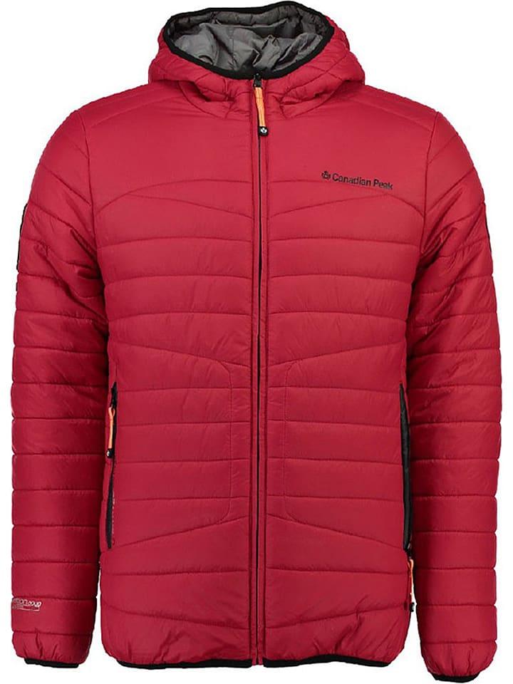 """Canadian Peak Kurtka przejściowa """"Berg"""" w kolorze czerwonym"""