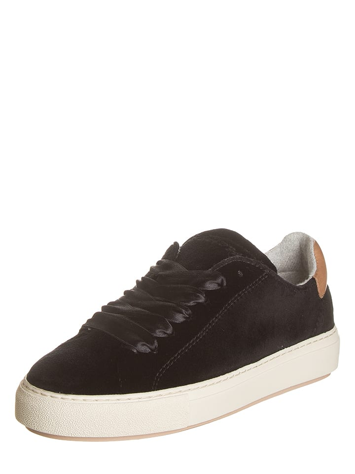 Marc O'Polo Shoes Leren sneakers zwart