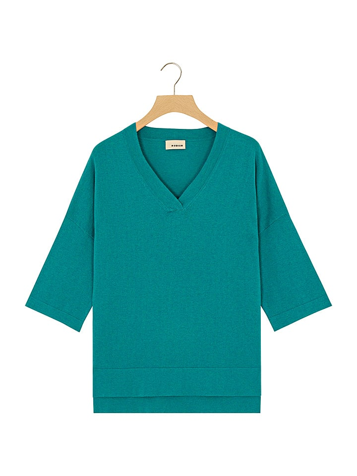 Rodier - Pullover in Petrol   limango Outlet c473a5888e