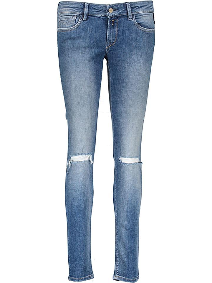 """Replay Jeans """"Luz"""" - Skinny fit - in Hellblau"""