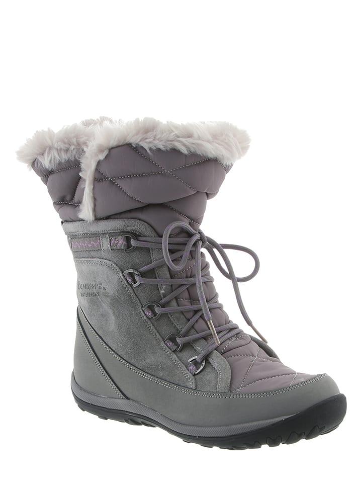 "Bearpaw Leder-Boots ""Whitney Solids"" in Grau"