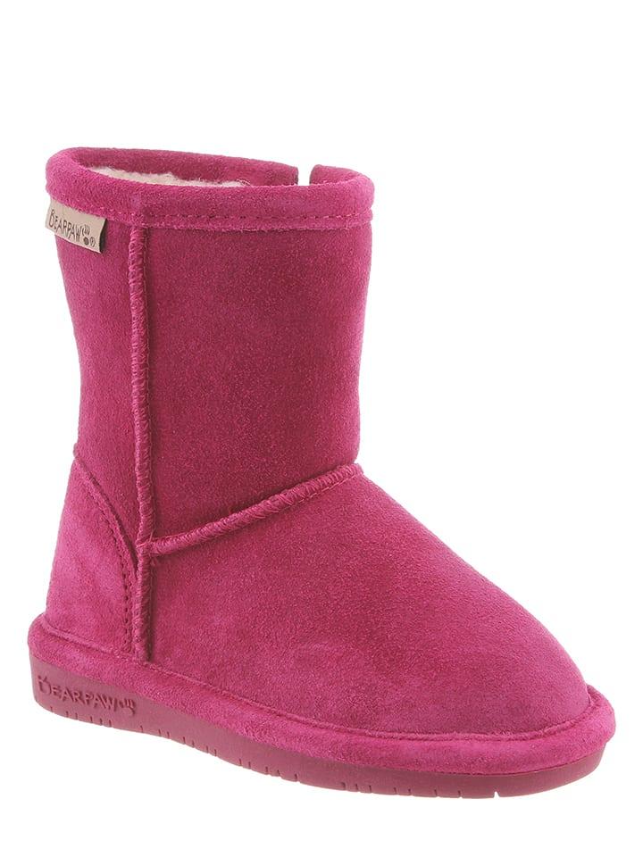 """Bearpaw Leder-Stiefel """"Emma Toddler"""" in Pink"""